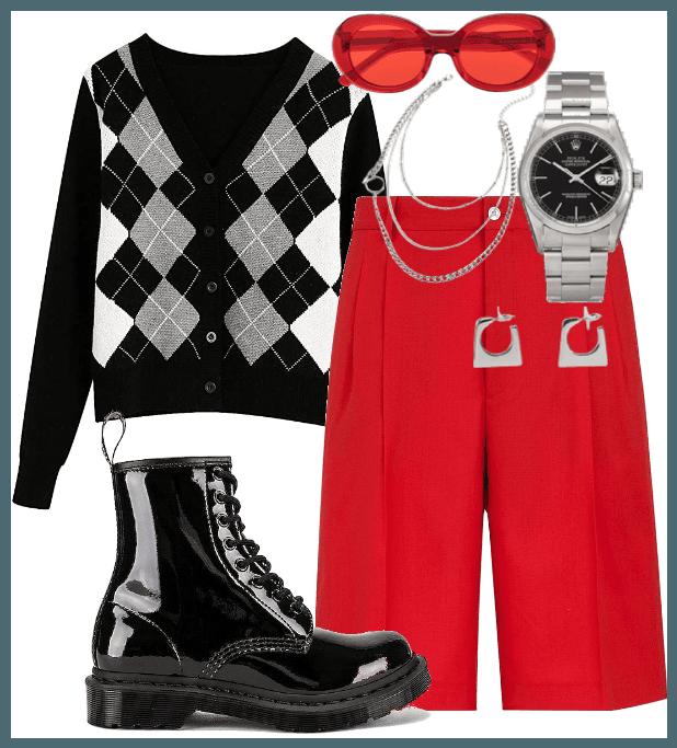 RED-WHITE-BLACK