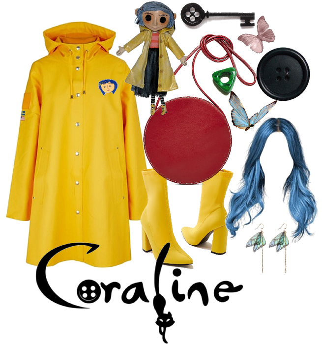Halloween Coraline Outfit Shoplook