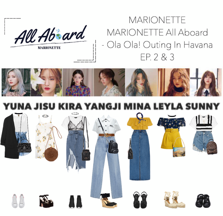 MARIONETTE (마리오네트) [MARIONETTE ALL ABOARD] Ola Ola! Outing in Havana - EP. 2 & 3