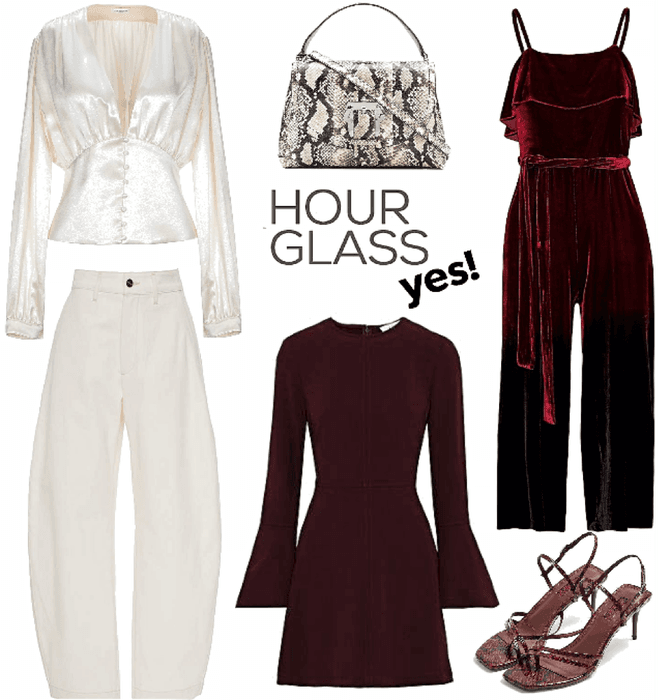 accent your hourglass