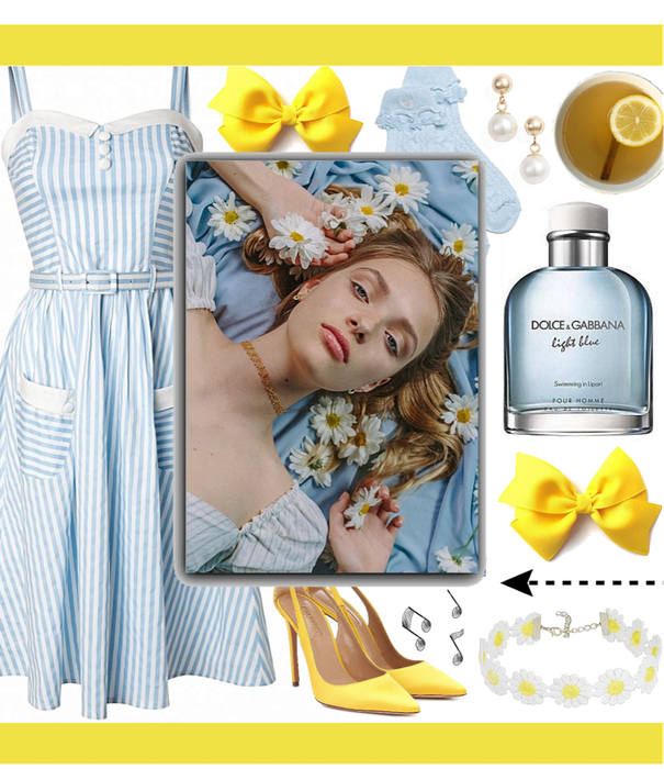 SPRING 2020: Pastel Blue + Yellow Style