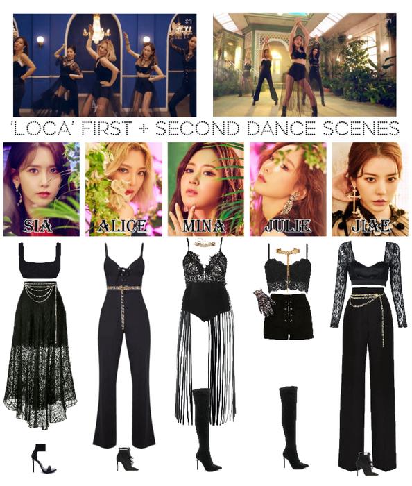 [HEARTBEAT] 'LOCA' OFFICIAL M/V   FIRST + SECOND DANCE SCENE