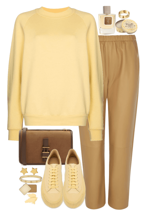 comfortable casual outfit