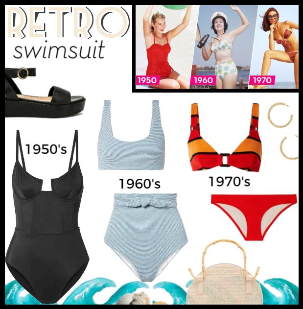 Springtrend: Retro SwimSuit