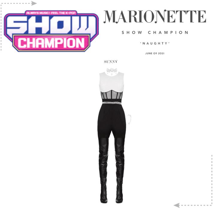 마리오네트 (MARIONETTE) - [SHOW CHAMPION] 'NAUGHTY'