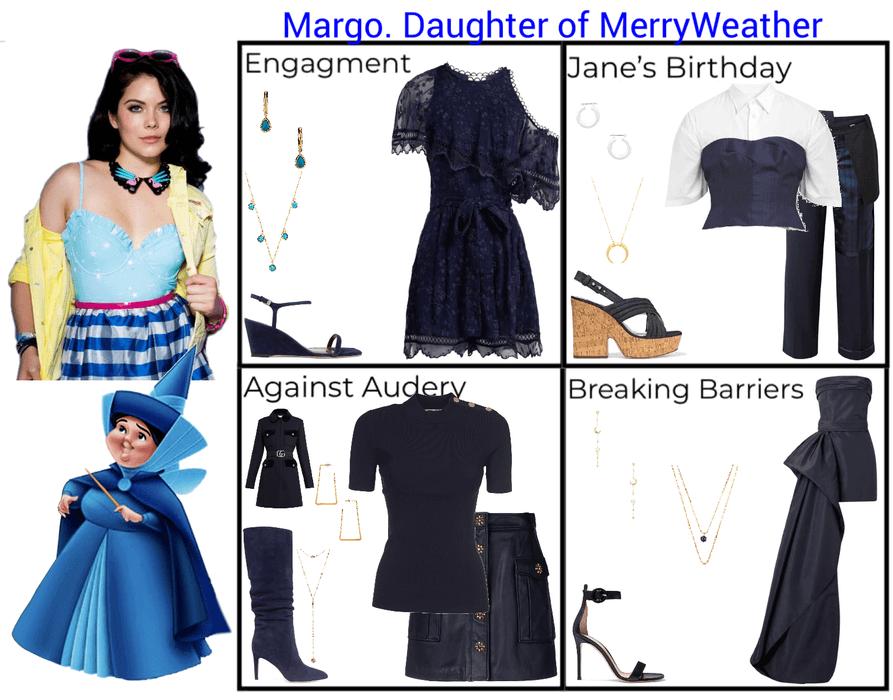 Margo. Daughter of MerryWeather. Descendants 3
