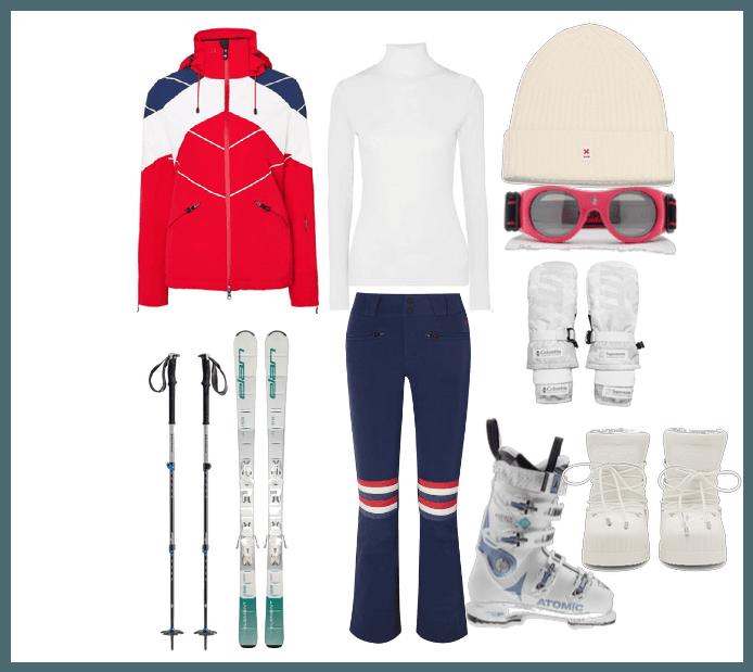 Lizzie Skiing Holidat at Zermatt