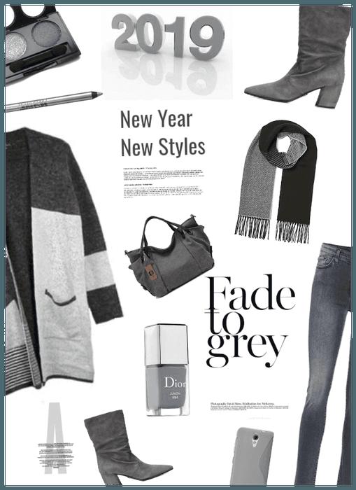 New year New Styles/ Go Grey