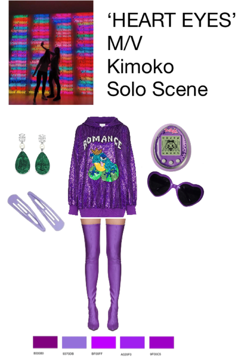 'HEART EYES' M/V - Kimoko Solo Scene