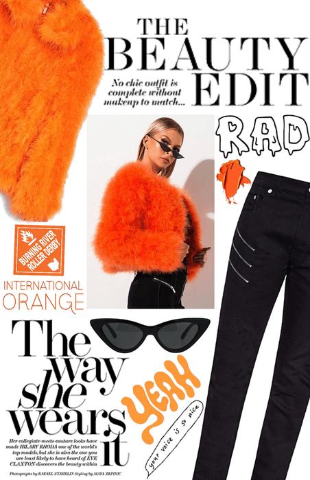 Be bold in Orange