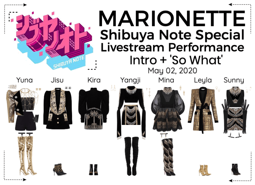 MARIONETTE (마리오네트) Shibuya Note