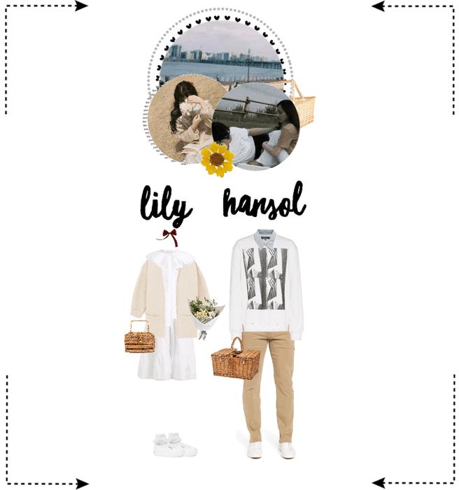 〖Lily&Hansol〗 Picnic At Han River