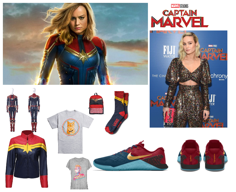 Captain Marvel Outfit Shoplook 1723 x 2560 jpeg 293 кб. captain marvel outfit shoplook