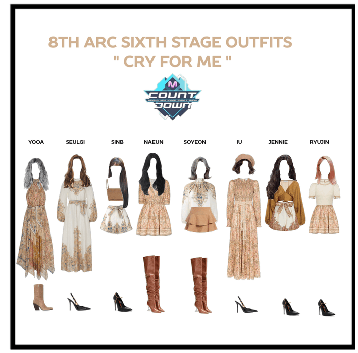 """8th Arc """"cry for me"""" 6th stage"""