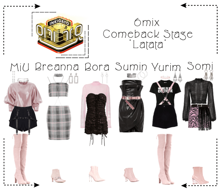 《6mix》Inkigayo Comeback Stage