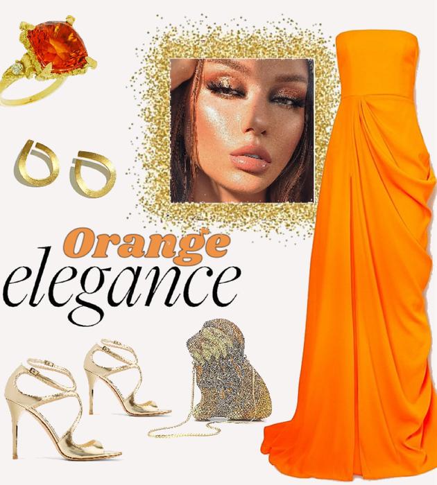 orange elegance
