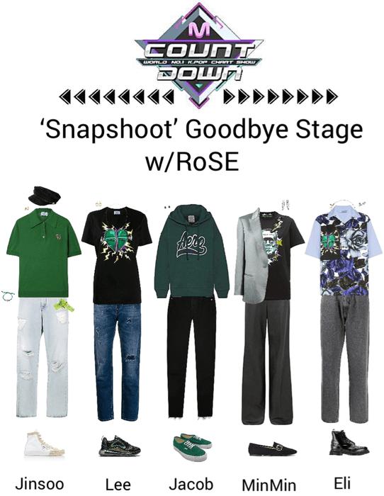 Zus//Snapshoot Mnet Countdown Goodbye Stage