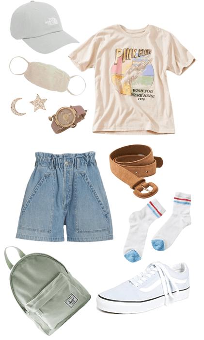 shirts and shorts