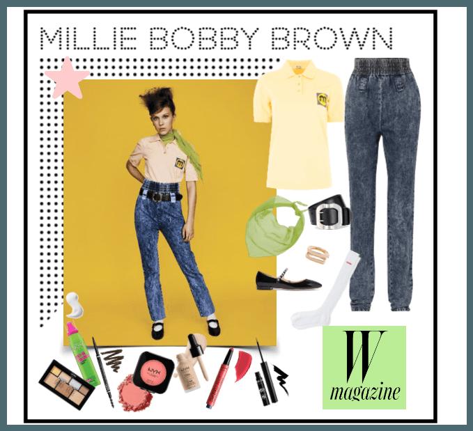Millie Bobby Brown for W Magazine