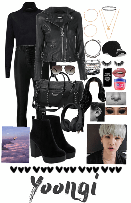 BTS Min Yoongi Airport Fashion (Girlfriends outs)
