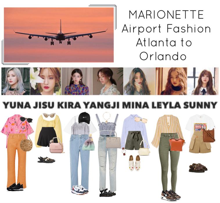 {MARIONETTE} Airport Fashion