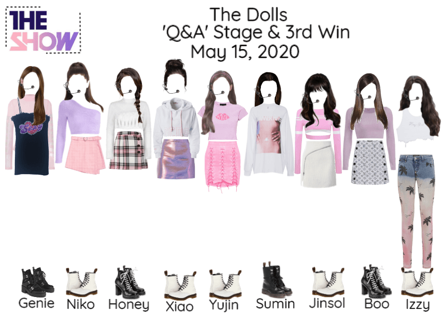 [Q&A - The Dolls] The Show & Read D!