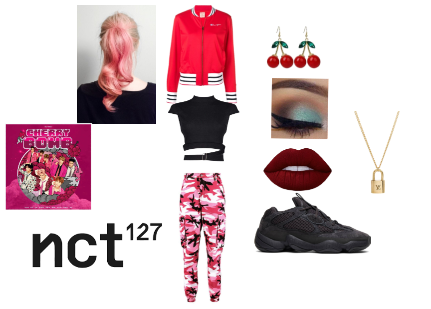 nct 127 cherry bomb inspired outfit