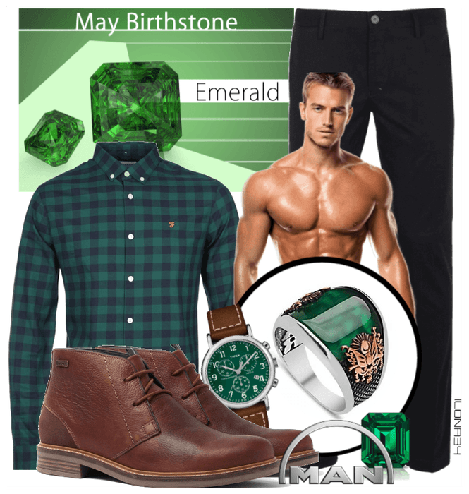 Emerald green style MEN