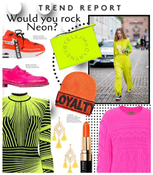 Would You Rock this Trend? NEON