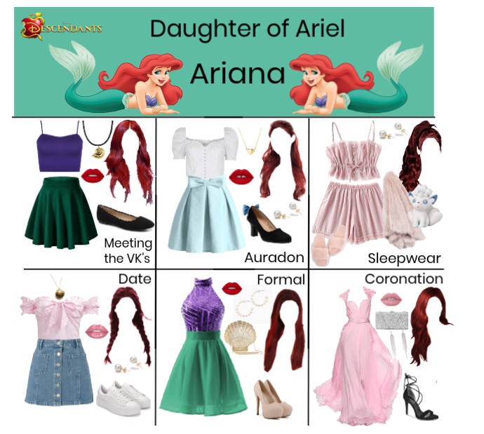Ariana, Daughter of Ariel (Descendants)
