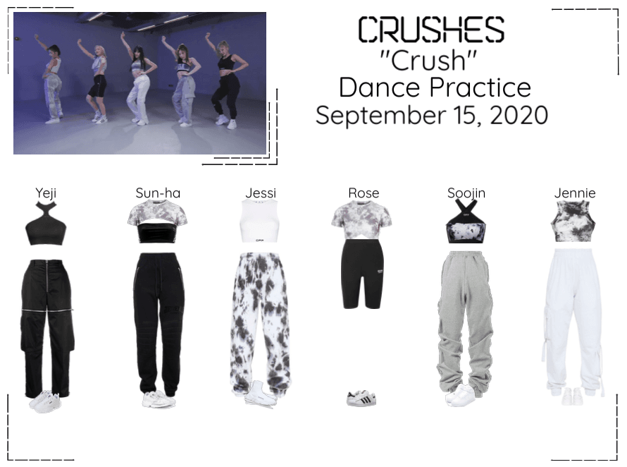 "Crushes (호감) ""Crush"" Dance Practice"