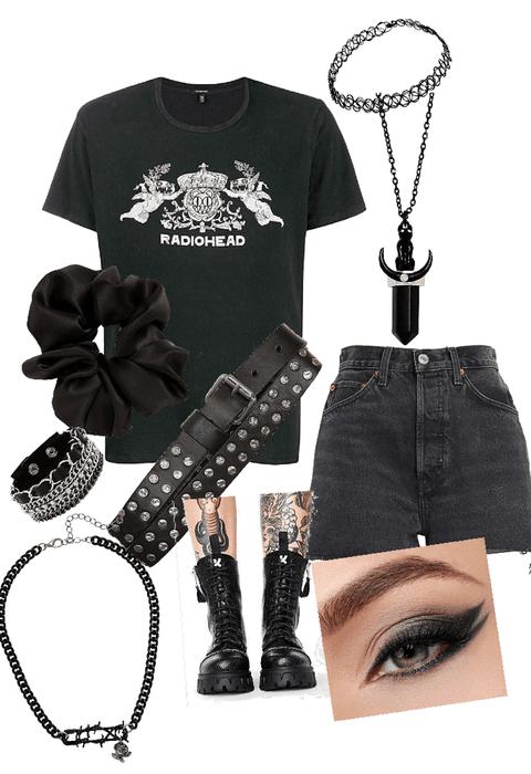 grunge goth bitch