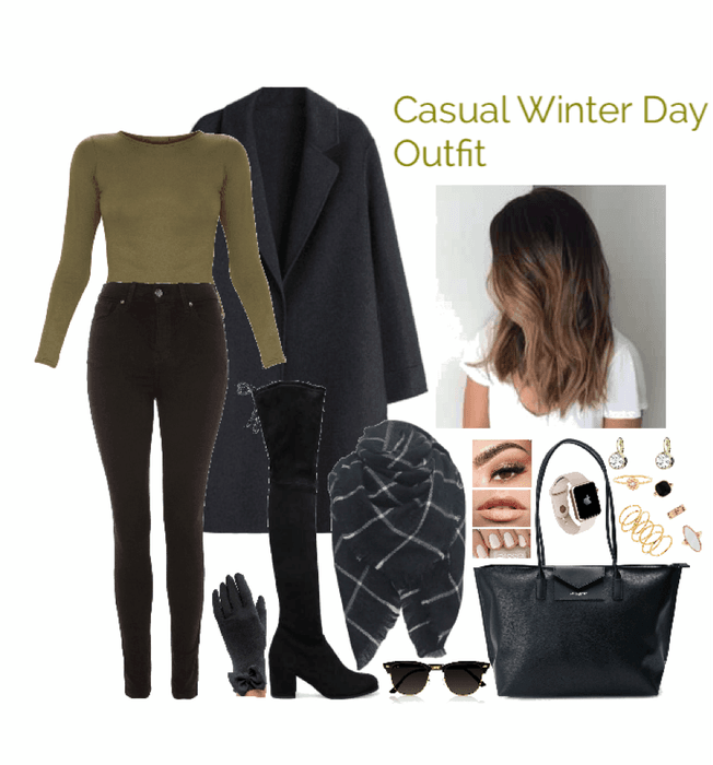 Casual Winter Day Outfit