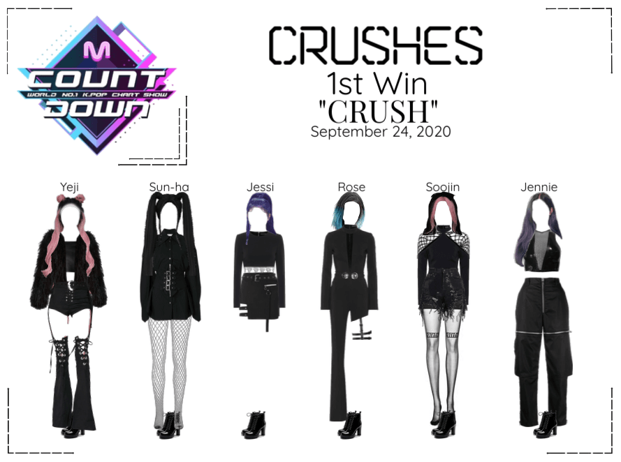 """Crushes (호감) """"CRUSH"""" 1st Win"""