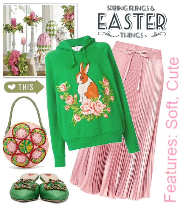 Happy fashion easter