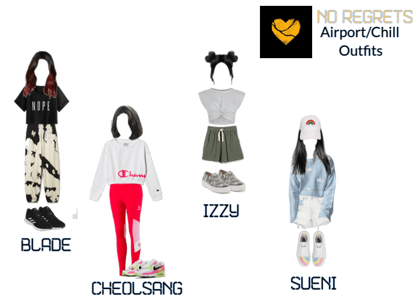 NO REGRETS Airport/Chill Outfits