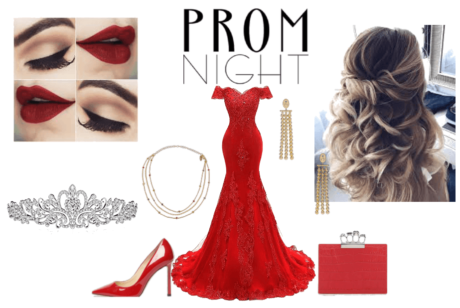 red prom