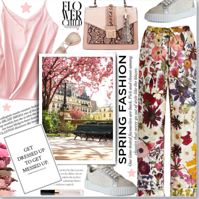Statement Trousers: Flower Power