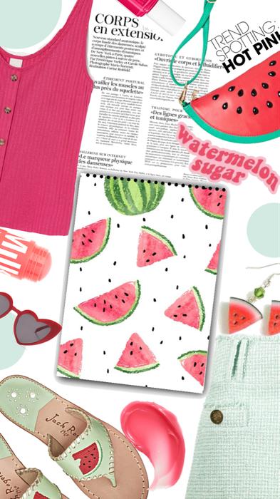 Watermelon!! 🍉🍉Fruit Challenge