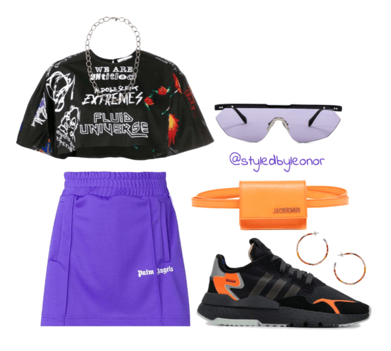 Edgy Bold Sporty