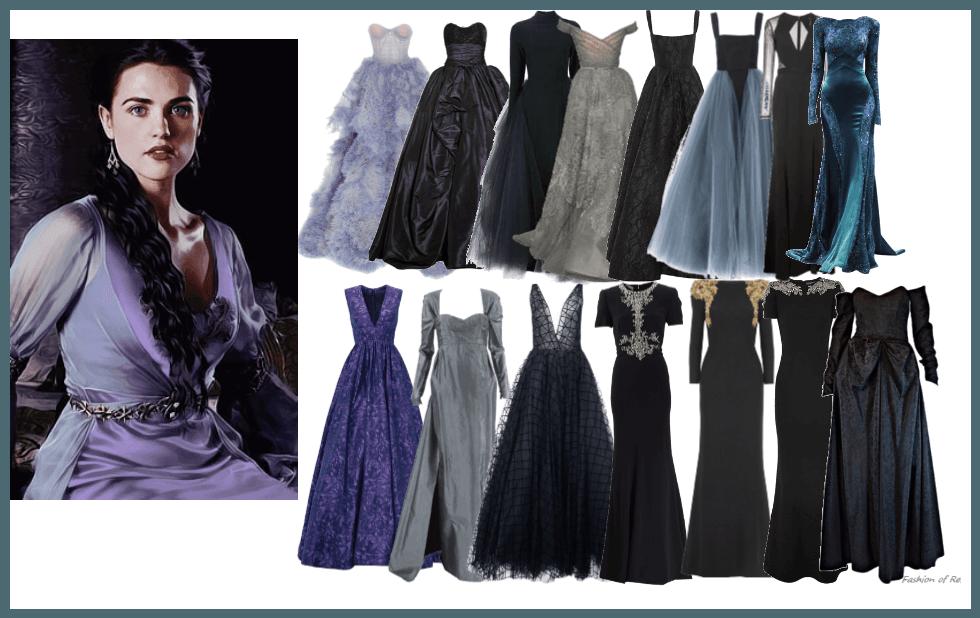 Alysanne Snow Gowns