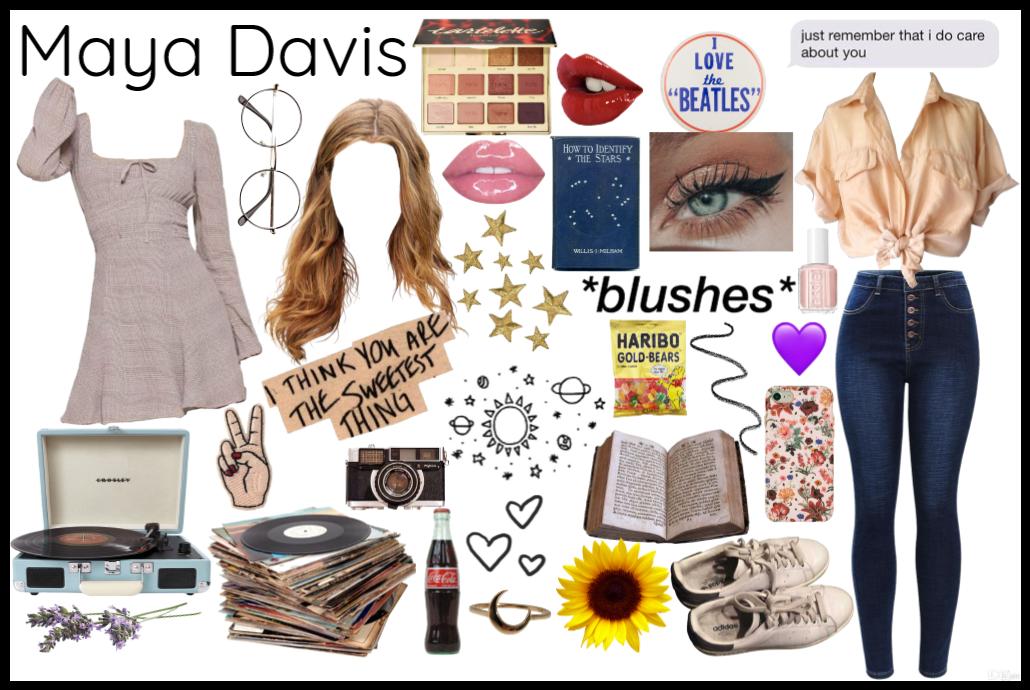 Four Best Friends: Maya Davis