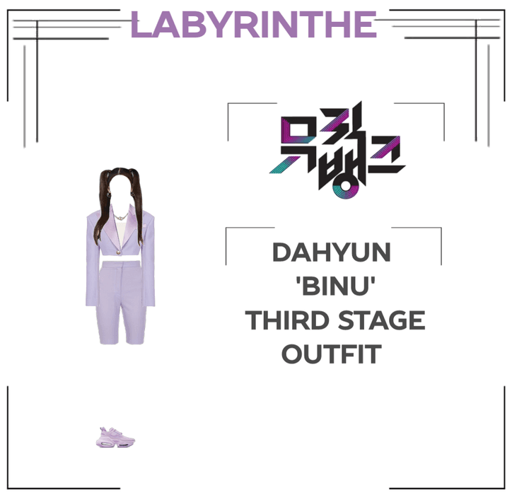 Dahyun binu third stage