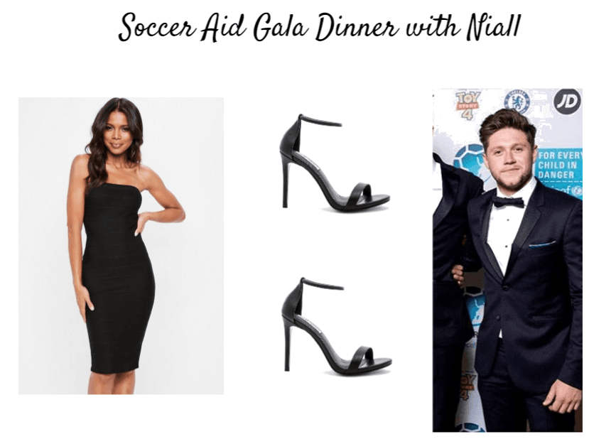 Soccer Aid Gala Dinner with Niall