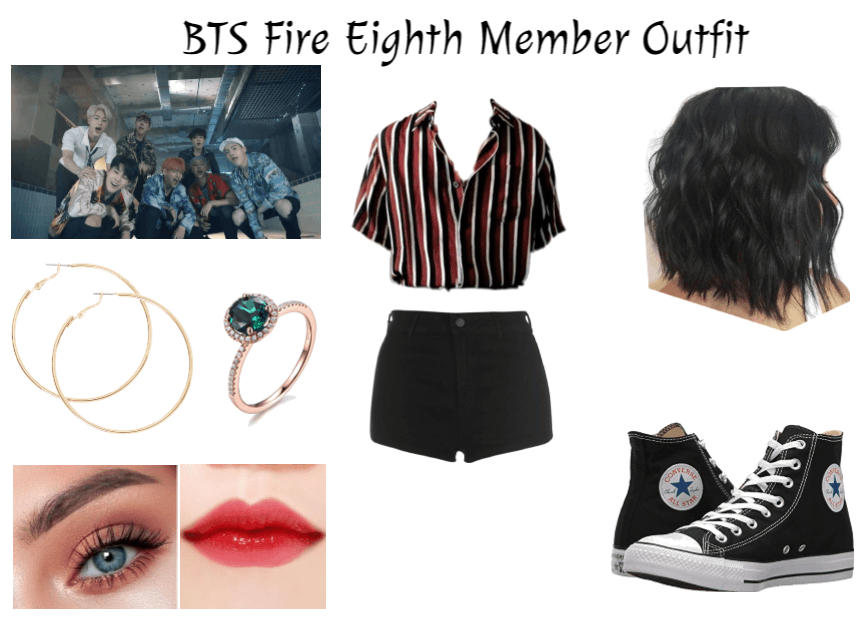 BTS Fire Eighth Member Outfit