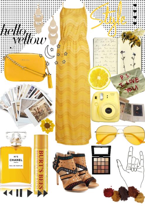 boho yellow