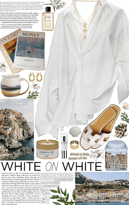 White on white; italian beaches