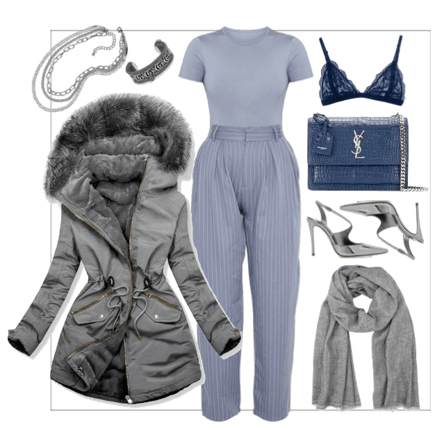 Blue + Gray
