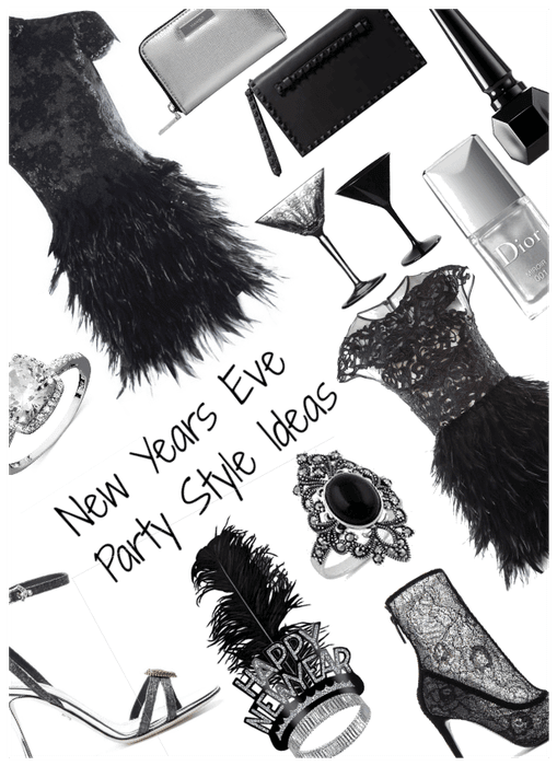 Because A Girl Needs Options! NYE Style ideas