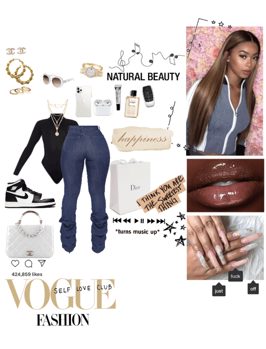 Glam But Simple Concert Outfit